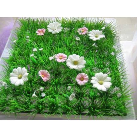 Tapis fleur