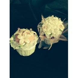 Cup cake à cake de luxe.
