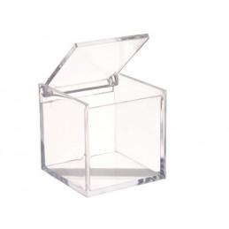 Cube plexi transparent pour vos gourmandises