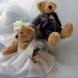 Mariage nounours pour la vie