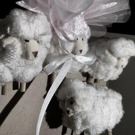 11 petits moutons sur tige