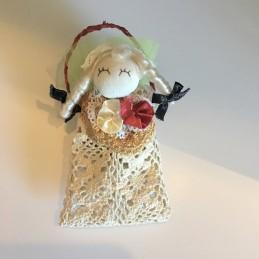Sachet vintage poupée