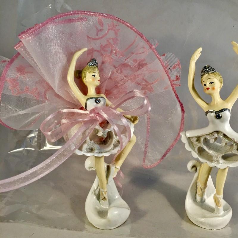 0816f4a9ea5ef Une danseuse ballerine blanc et strass baptême ou communion